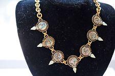 Elizabeth Cole Bib Necklace- A Stunner!!!