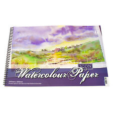A3 Watercolour Pad 12 Sheet 300gsm Textured Paper Art Painting Drawing Sketching