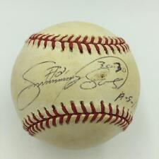 "Rare Sammy Sosa ""30-30 #21 1995 All Star"" Signed Inscribed Baseball JSA COA"