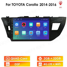 """10.1"""" Android 10.0 Car Stereo for Toyota COROLLA 2014~2016 Radio GPS DSP WIFI 4G"""