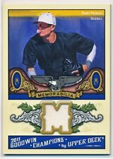 MANNY MACHADO 2011 UPPER DECK UD GOODWIN CHAMPIONS GU JERSEY RELIC RC (DODGERS)