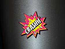 1 x adhesivo crashh Bang Boom Pang hechizo cómic sticker tuning decal Fun gag