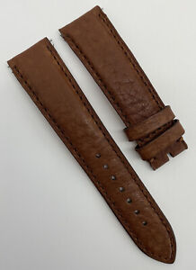 Authentic Gronefeld 20mm x 18mm Brown Calfskin Leather Watch Strap Band OEM