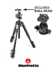 Manfrotto TRIPOD Aluminiun Professional MK190XPRO4-BH With Ball Head 496RC2