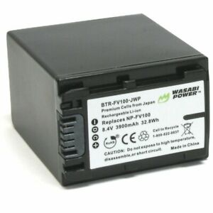 Wasabi Power Battery for Sony NP-FV100 (3900mAh)
