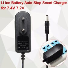 DC 8.4V 1A Smart Charger EU Plug For 7.4V 7.2V Li-ion Li-po Battery Auto-Stop