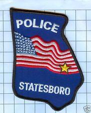 Police Patch  - Georgia - Statesboro