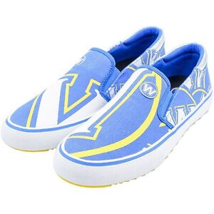 Golden State Warriors Slip-On Canvas Shoes - Royal