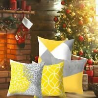 LK/_ Geometric Colorful Art Pillow Case Throw Cushion Cover Home Decor Gift Eye