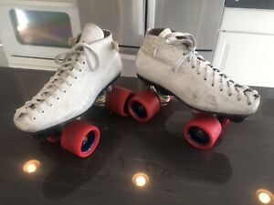 Vintage Riedell 595 Speed Skates fits Ladies 61/2  -7 / Men's 6