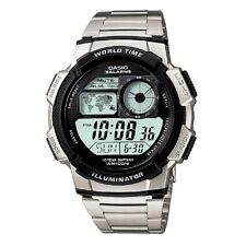 Casio AE-1000WD-1AV Stainless Steel Digital Sports Watch Retail Box Included