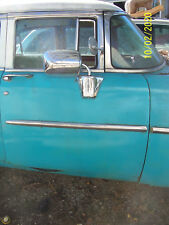 1955 MONTEREY RIGHT FRONT DOOR SHELL USED OEM ORIG MERCURY NO GLASS  NO  TRIM