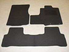 Honda CR-V 2006-12 Fully Tailored Deluxe Car Mats in Grey-Grey Trim-3 Piece Set