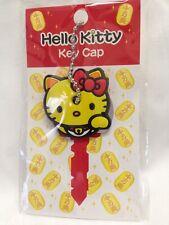 New Hello Kitty Key Cap Cover Lucky Cat Yellow Sanrio