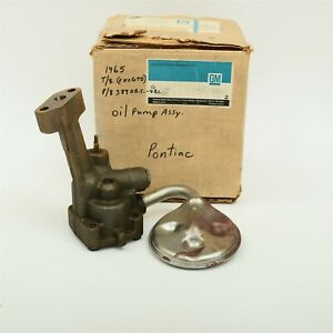 65 1965 Pontiac T8 P8 Bonneville Catalina Tempest Oil Pump... GM 9779050 NOS