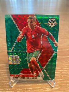 ⚡2021 Mosaic Cristiano Ronaldo Green Prizm EURO 2020- MINT!!! RARE!!! 💪💪💪
