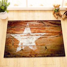 Western Texas Star Board Non-Slip Bathroom Mat Rug Home Decor Door Floor Carpet