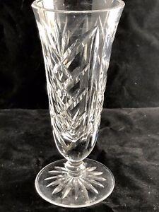 Vintage Lismore Bud Vase Waterford Crystal Lismore Bud Vase 9 14 Tall Signed Waterford Crystal Vintage Waterford Lismore Bud Vase