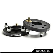 """2 x 20mm 0.79"""" 4Hole To 5Hole 7075T6 For BMW 325e E30 1985 Wheel Spacer Adapter"""