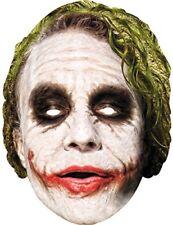 Nouveau Batman Superhero Supervillian Joker cartes Masque Facial