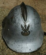 Polish pre war firemans helmet (Warsaw uprising)