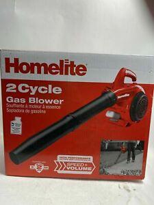 Homelite 150 MPH 400 CFM 2-Cycle Handheld Gas Leaf Blower UT09526