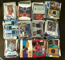 NBA 12 Card Pack! Guaranteed 3 Autograph / Game Used Jersey Cards Basketball