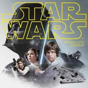 Star Wars Classic 2022 Square Calendar Offical Product Luke Skywalker