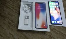 Apple iPhone X - 64GB - Space Gray (Sprint) A1865 (CDMA + GSM)