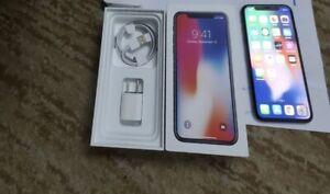 Apple iPhone X - 64GB - Space Gray (Sprint) A1865 (CDMA + GSM)