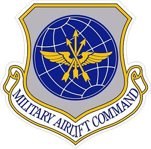 US Air Force USAF Military Airlift Command Decal / Sticker