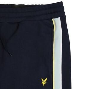 Lyle & Scott Men's Sweat Shorts  3 colours Black/Navy/Grey (Side Stripe)