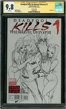 Deadpool Kills the Marvel Universe #1 - CGC SS 9.8 NM/MT - Signed Cullen Bunn!