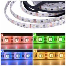 5M LED Stripe RGBW RGBWW 4in1 Leiste Streife 5050 Band Lichter Licht Leuchte DC