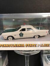 State Police Car Pa. Plymounth Fury 1969 State Police Car White Rose