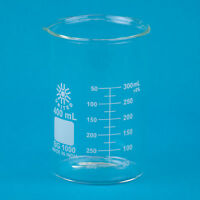 Low Form Glass Beaker, 400mL  12 pk