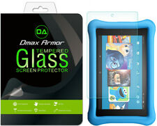 2x Amazon Fire HD 8 Kids Edition Tablet Tempered Glass Screen Protector