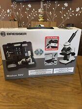 BRESSER Biolux NV 20x-1280x microscopio con cámara USB (Casa Escuela biología)