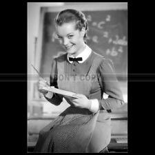 Photo F.008592 ROMY SCHNEIDER (JEUNES FILLES EN UNIFORME) 1958
