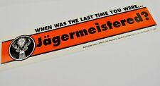 Jägermeister USA 33 cm Vinyl Aufkleber - Jägermeistered