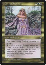 Merieke Ri Berit Ice Age HEAVILY PLD White Blue Black Rare MAGIC CARD ABUGames