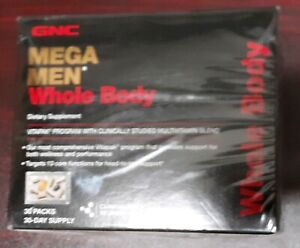 GNC Mega Men Whole Body Vitapak 30 Packs per Box, Supports Wellness and Performa