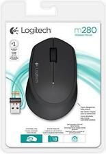 Logitech M280 Wireless Maus, USB, schwarz