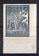 POLOGNE Oflag Camp de Neubrandenburg Fischer timbre n° 6 neuf sans charnière