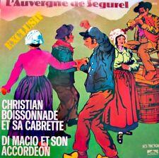 ++CHRISTIAN BOISSONNADE/DI MACIO l'auvergne de segurel LP TRETEAUX VG++
