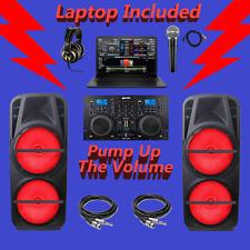 24,000 Watt Professional DJ System Complete DJ PA System Sound System Music Live