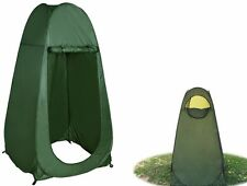 Portable Green Pop Up Tent Camping Beach Toilet Shower Changing Room w/ Window