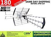 """THE ORIGINAL"" 42 ELEMENT HD TV OUTDOOR DIRECTIONAL ANTENNA VHF/UHF"