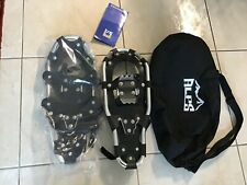 Snowshoes All Tarrain Lightweight Black Shoes Women Men Youth At22 Tote Bag New