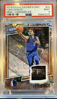 PSA 9 Mint 2019 Panini Black Friday Luka Doncic PATCH /25 Rare SP MVP?